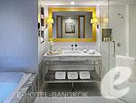 バンコク カップル&ハネムーンのホテル : タワー クラブ アット ルブア(Tower Club at lebua)のタワークラブリバービュースイールームの設備 Bath Room