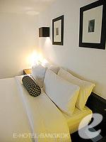 バンコク シーロム・サトーン周辺のホテル : トリプル トゥー シーロム(Triple Two Silom)のジュニア スイートルームの設備 Bedroom