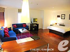 バンコク シーロム・サトーン周辺のホテル : トリプル トゥー シーロム(Triple Two Silom)のお部屋「ジュニア スイート」