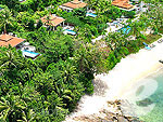 プーケット プールヴィラのホテル : トリサラ(Trisara)のオーシャン フロント プール ヴィラルームの設備 beach