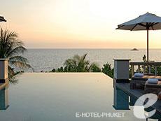 プーケット プライベートビーチありのホテル : トリサラ(1)のお部屋「オーシャン フロント プール ヴィラ」