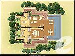 プーケット ビーチフロントのホテル : トリサラ(Trisara)のオーシャン ビュー プール スイートルームの設備 Villa