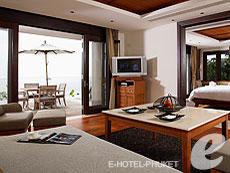 プーケット プライベートビーチありのホテル : トリサラ(1)のお部屋「オーシャン ビュー プール スイート」