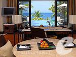 プーケット プライベートビーチありのホテル : トリサラ(Trisara)の2ベッドルーム オーシャン フロント プールヴィラルームの設備 Room View