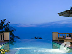プーケット プールヴィラのホテル : トリサラ(1)のお部屋「2ベッドルーム オーシャン フロント プールヴィラ」