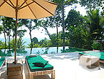 プーケット プールヴィラのホテル : トリサラ(Trisara)の2ベッドルーム パーティアル オーシャン ビュー レジデンスルームの設備 Private Pool