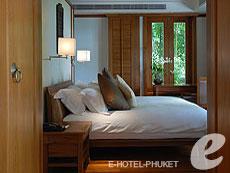 プーケット プールヴィラのホテル : トリサラ(1)のお部屋「2ベッドルーム パーティアル オーシャン ビュー レジデンス」