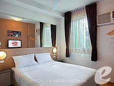 パタヤ ノースパタヤのホテル : レッドプラネット パタヤ ホテル(1)のお部屋「ダブル」
