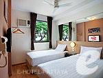 パタヤ ノースパタヤのホテル : レッドプラネット パタヤ ホテル(Red Planet Pattaya)のツインルームの設備 Room View