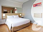 パタヤ ノースパタヤのホテル : レッドプラネット パタヤ ホテル(Red Planet Pattaya)のアクセスブル ルームルームの設備 Room View