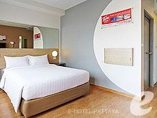 パタヤ ノースパタヤのホテル : レッドプラネット パタヤ ホテル(1)のお部屋「アクセスブル ルーム」