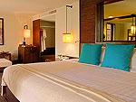 クラビ ランタ島のホテル : ツイン ロータス-コ ランタ(Twin Lotus - Koh Lanta)のスーペリアルームの設備 Bedroom