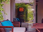 クラビ オーシャンビューのホテル : ツイン ロータス-コ ランタ(Twin Lotus - Koh Lanta)のスーペリアルームの設備 Terrace