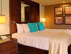 クラビ オーシャンビューのホテル : ツイン ロータス-コ ランタ(1)のお部屋「スーペリア」