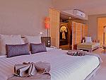 クラビ ランタ島のホテル : ツイン ロータス-コ ランタ(Twin Lotus - Koh Lanta)のデラックスルームの設備 Bedroom