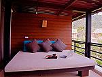 クラビ ランタ島のホテル : ツイン ロータス-コ ランタ(Twin Lotus - Koh Lanta)のデラックスルームの設備 Terrace