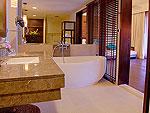 クラビ オーシャンビューのホテル : ツイン ロータス-コ ランタ(Twin Lotus - Koh Lanta)のデラックスルームの設備 Bath Room