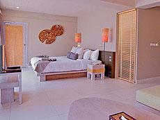 クラビ オーシャンビューのホテル : ツイン ロータス-コ ランタ(1)のお部屋「デラックス」