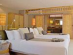 クラビ オーシャンビューのホテル : ツイン ロータス-コ ランタ(Twin Lotus - Koh Lanta)のガーデンヴィラルームの設備 Bedroom
