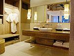 クラビ ランタ島のホテル : ツイン ロータス-コ ランタ(Twin Lotus - Koh Lanta)のガーデンヴィラルームの設備 Bath Room