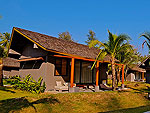クラビ ランタ島のホテル : ツイン ロータス-コ ランタ(Twin Lotus - Koh Lanta)のデラックス ガーデン ヴィラルームの設備 Exterior