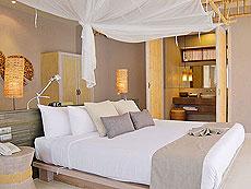 クラビ オーシャンビューのホテル : ツイン ロータス-コ ランタ(1)のお部屋「デラックス ガーデン ヴィラ」