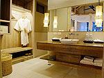 クラビ オーシャンビューのホテル : ツイン ロータス-コ ランタ(Twin Lotus - Koh Lanta)のデラックス シービュー ヴィラルームの設備 Bath Room