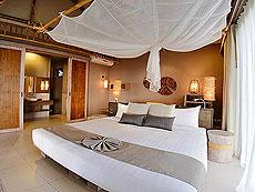 クラビ オーシャンビューのホテル : ツイン ロータス-コ ランタ(1)のお部屋「デラックス シービュー ヴィラ」