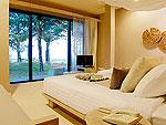 クラビ ランタ島のホテル : ツイン ロータス-コ ランタ(Twin Lotus - Koh Lanta)のデラックス ビーチフロント ヴィラルームの設備 Bedroom
