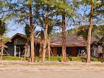 クラビ ランタ島のホテル : ツイン ロータス-コ ランタ(Twin Lotus - Koh Lanta)のデラックス ビーチフロント ヴィラルームの設備 Exterior