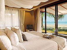 クラビ オーシャンビューのホテル : ツイン ロータス-コ ランタ(1)のお部屋「デラックス ビーチフロント ヴィラ」