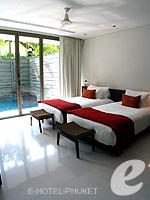 プーケット 10,000~20,000円のホテル : ツインパームス プーケット(Twinpalms Phuket)のデプレックス プール スイート 2ベッドルーム(レジデンス)ルームの設備 Bedroom
