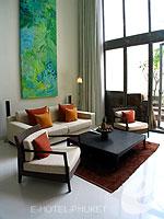 プーケット 20,000円以上のホテル : ツインパームス プーケット(Twinpalms Phuket)のデプレックス プール スイート 2ベッドルーム(レジデンス)ルームの設備 Living Room