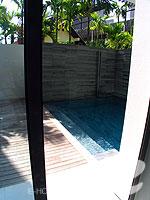 プーケット 20,000円以上のホテル : ツインパームス プーケット(Twinpalms Phuket)のデプレックス プール スイート 2ベッドルーム(レジデンス)ルームの設備 Swimming Pool