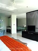 プーケット 10,000~20,000円のホテル : ツインパームス プーケット(Twinpalms Phuket)のデプレックス プール スイート 2ベッドルーム(レジデンス)ルームの設備 Master Bedroom
