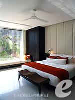 プーケット 20,000円以上のホテル : ツインパームス プーケット(Twinpalms Phuket)のデプレックス プール スイート 2ベッドルーム(レジデンス)ルームの設備 Master Bedroom