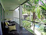 プーケット 10,000~20,000円のホテル : ツインパームス プーケット(Twinpalms Phuket)のパーム スイート 1ベッドルームルームの設備 balcony
