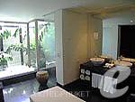 プーケット 20,000円以上のホテル : ツインパームス プーケット(Twinpalms Phuket)のラグーン プール スイート 1ベッドルームルームの設備 Bath Room