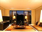 Living Room : Plunge Pool Pavilion at Veranda Chiangmai - The High Resort, Couple & Honeymoon, Chiangmai