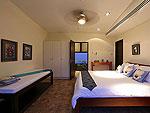 プーケット ファミリー&グループのホテル : ヴィラ アマンジ(Villa Amanzi)の3ベッドルームルームの設備 Third Room