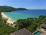 プーケット ファミリー&グループのホテル : ヴィラ アマンジ(Villa Amanzi)の3ベッドルームルームの設備 Sea View