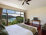 プーケット ファミリー&グループのホテル : ヴィラ アマンジ(Villa Amanzi)の4ベッドルームルームの設備 Second Room