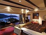 プーケット ファミリー&グループのホテル : ヴィラ アマンジ(Villa Amanzi)の6ベッドルームルームの設備 Master Bedroom
