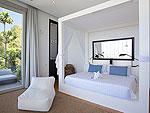 サムイ島 チョンモーンビーチのホテル : ヴィラ ベル(Villa Belle)の3ベッドルームルームの設備 Bedroom