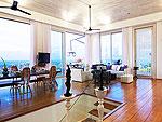 サムイ島 チョンモーンビーチのホテル : ヴィラ ベル(Villa Belle)の3ベッドルームルームの設備 Upper Living Room