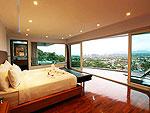 プーケット ファミリー&グループのホテル : ヴィラ ビヨンド(Villa Beyond)の3ベッドルームルームの設備 Master Bedroom