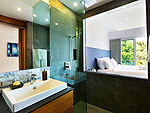 プーケット ファミリー&グループのホテル : ヴィラ ビヨンド(Villa Beyond)の3ベッドルームルームの設備 Bathroom