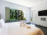 プーケット ファミリー&グループのホテル : ヴィラ ビヨンド(Villa Beyond)の3ベッドルームルームの設備 Sixth Room