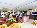 プーケット バンタオビーチのホテル : ヴィラ ビヨンド(Villa Beyond)の3ベッドルームルームの設備 Living Room