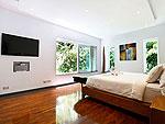プーケット ファミリー&グループのホテル : ヴィラ ビヨンド(Villa Beyond)の5ベッドルームルームの設備 Fourth Room